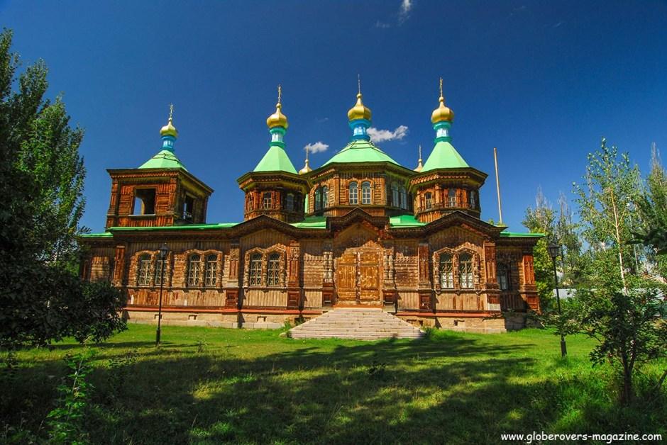 Holy Trinity Russian Orthodox Church, Karakol, Kyrgyzstan