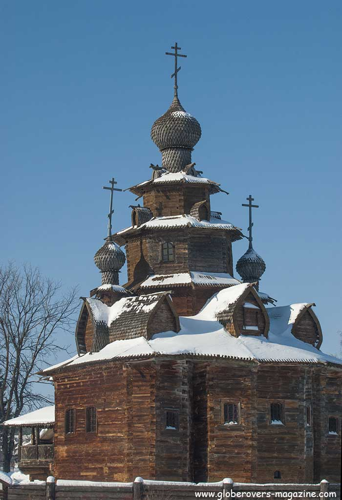 Church of the transfiguration (Village of Koslyatyevo, 1765), Suzdal, Russia