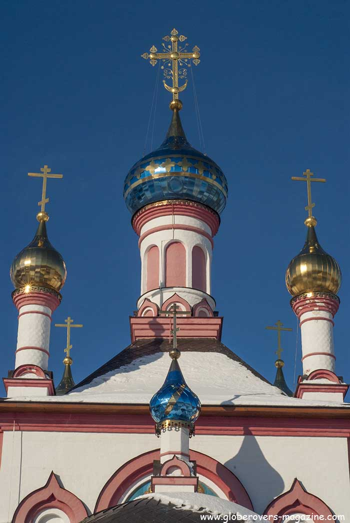 Znamenskaya Church (The church of our Lady of the Sign), Pereslavl-Zalesskiy, Russia