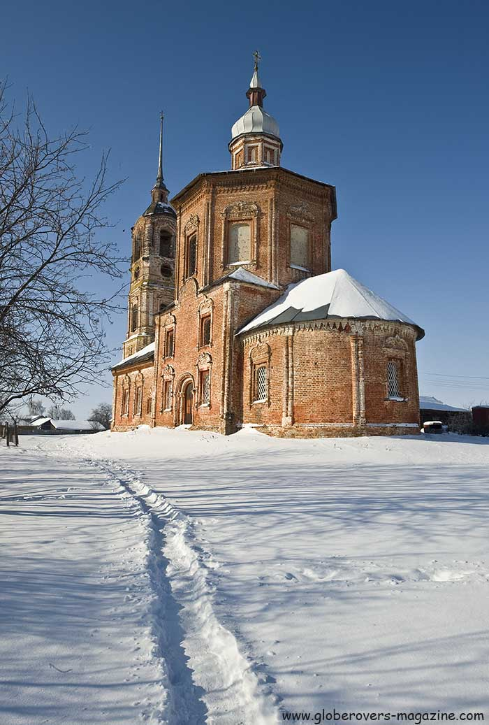Church of Sts. Boris and Gleb, Suzdal, Russia