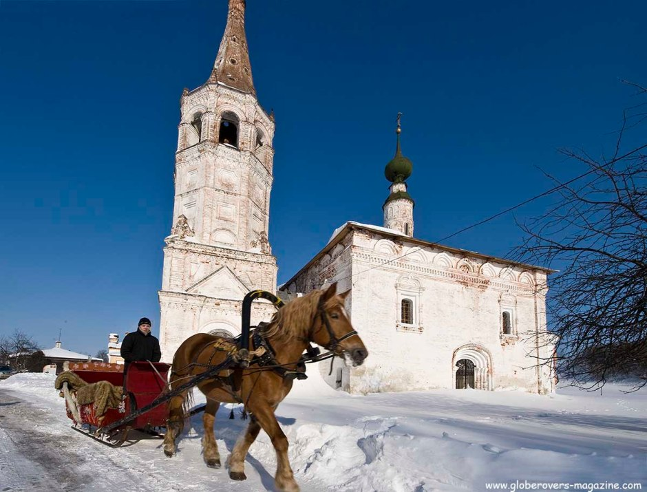 Church of St. Nicholas, Suzdal, Russia