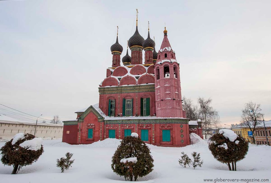 The Church of the Epiphany, Yaroslavl, Russia
