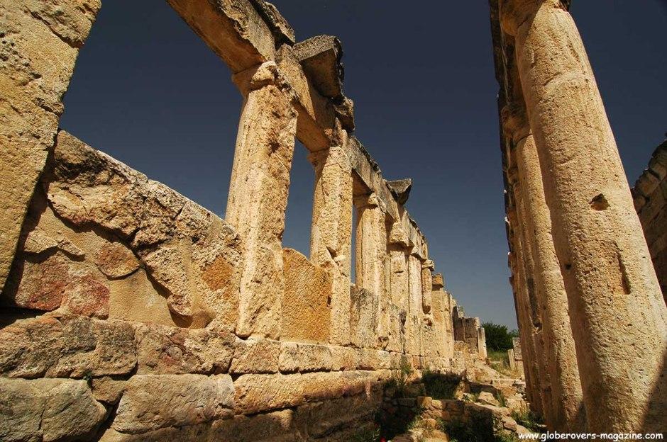 Agora, Hierapolis, Turkey