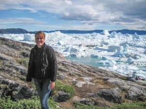 Photo: Helen Brentnall, Icebergs, Greenland