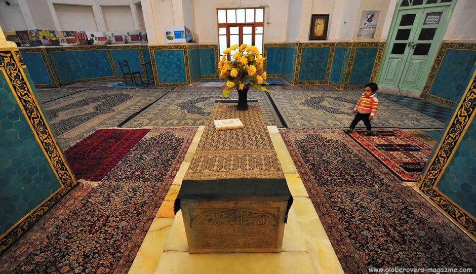 Aramgah-e Shah Ne'matollah Vali mausoleum, Mahan, IRAN