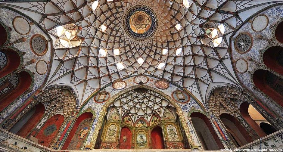 Boroujerdi Historical House, Kashan, IRAN