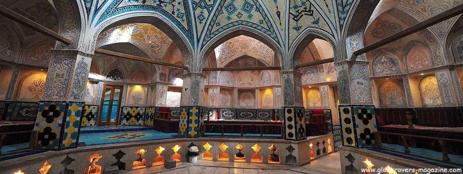 Hammam-e Sultan Amir Ahmad, Kashan, IRAN
