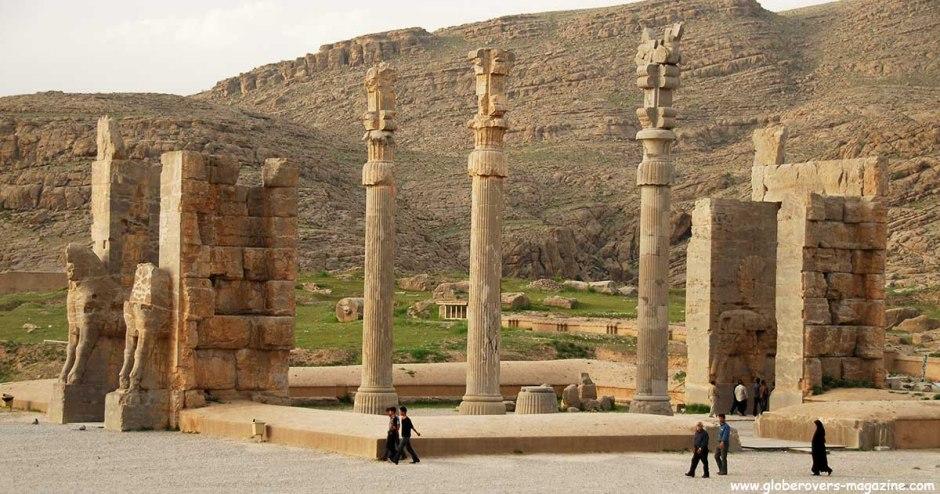 Xerxes' Gateway, Persepolis, Iran