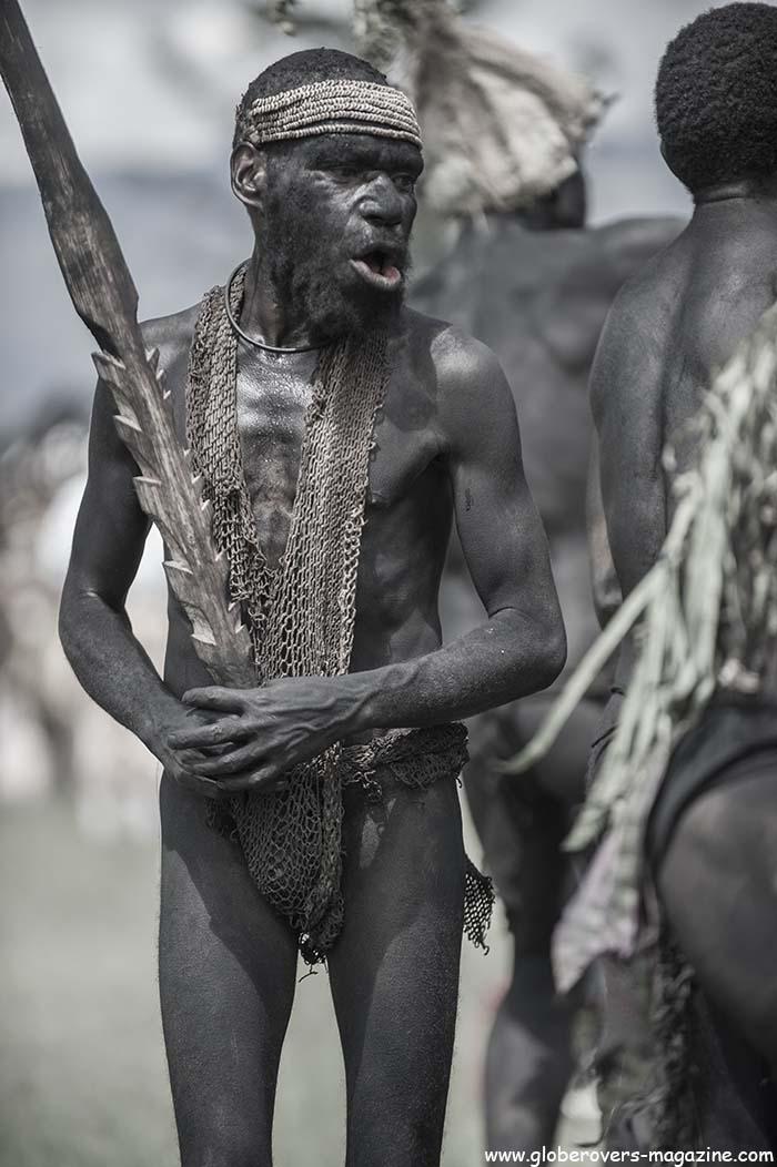 "Cisi Rocks ""Tusi"" Singsing Group, Upper Bena, 2014 Goroka Festival. Papua New Guinea"