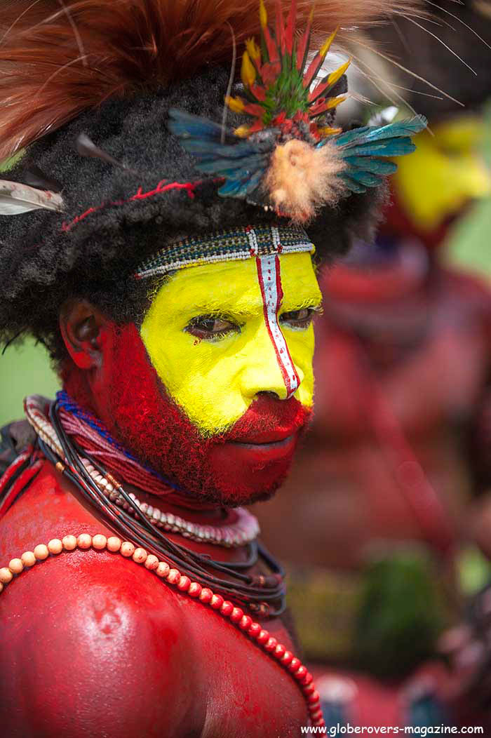Hela Wikman Koroba Singsing Group, 2014 Goroka Festival. Papua New Guinea