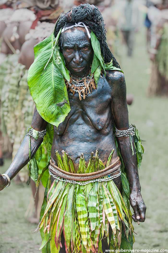Mama-Kepa Wia Singsing Group, Mount Hagen, 2014 Goroka Festival, Papua New Guinea