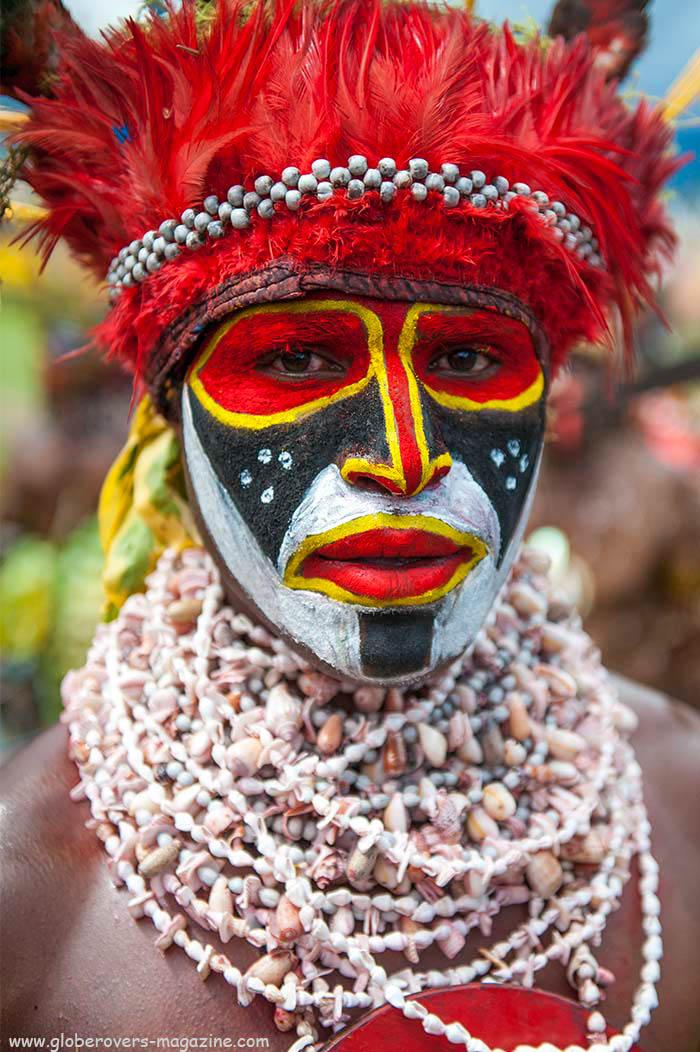 Live Stail Singsing Group, Mount Hagen, 2014 Goroka Festival, Papua New Guinea