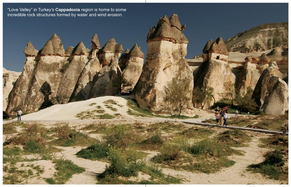 Fairy chimneys of Cappadocia, Turkey