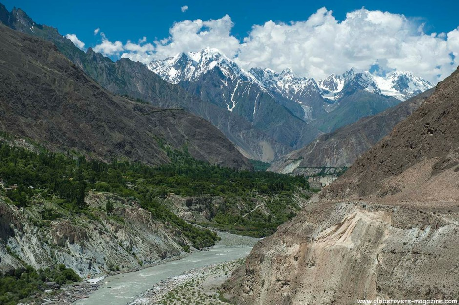 Lower Hunza Valley, PAKISTAN