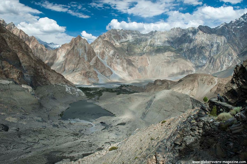 Around Passu Glacier, north of Gulmit Village in the Upper Hunza Valley north of the Attabad Lake, Hunza Vallay, PAKISTAN