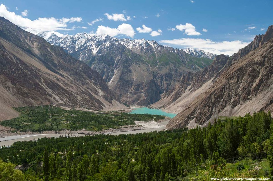 Near Gulmit Village in the Upper Hunza Valley north of the Attabad Lake, Hunza Vallay, PAKISTAN