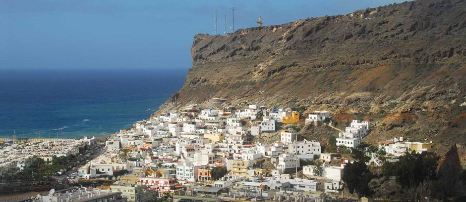 La Playa de Mogan, Gran Canaria Island