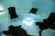 Ice hotel at Tomamu Ski Resort, Hokkaido, Japan
