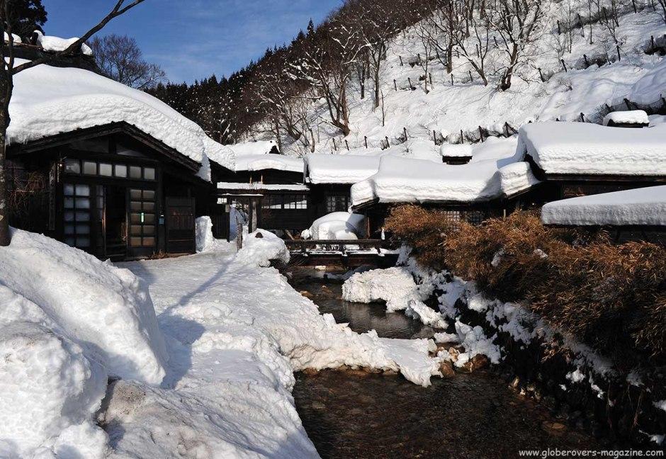 Tsurunoyu Onsen, Nyoto hot spring village, Akita