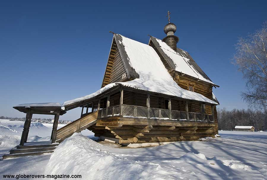 Church of St. Nicholas, Suzdal, Russia