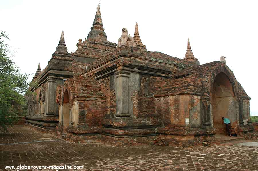 Ancient Temples of Bagan-Myanmar / Burma