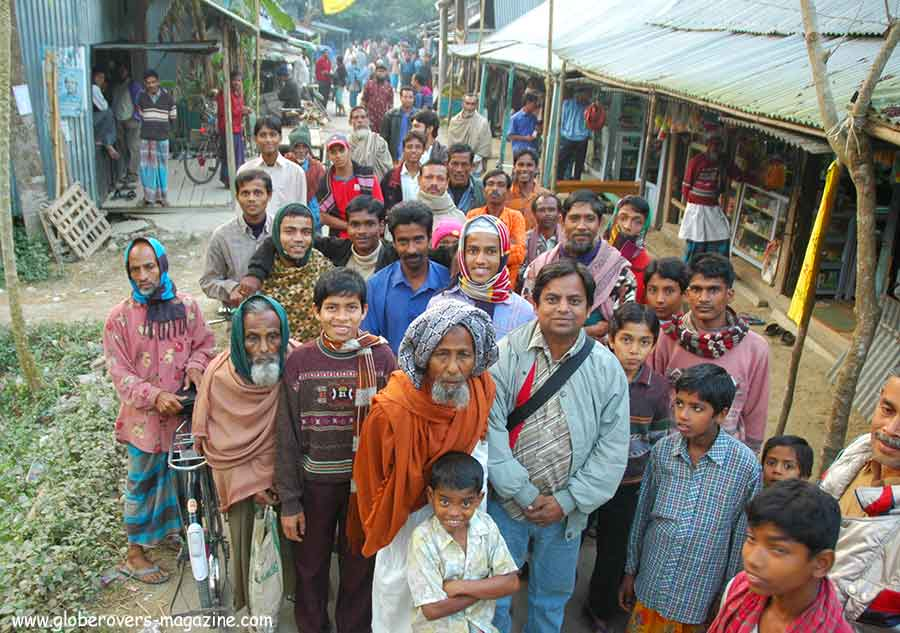 Village of Bamrail, few hours from Barisal, Bangladesh