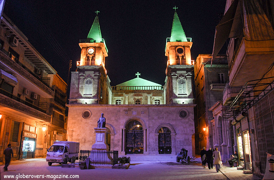 Saint Elias Cathedral is a Maronite church, Aleppo, Syria