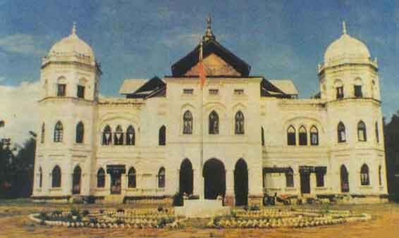 The KyaingtongPalace, shan state, myanmar