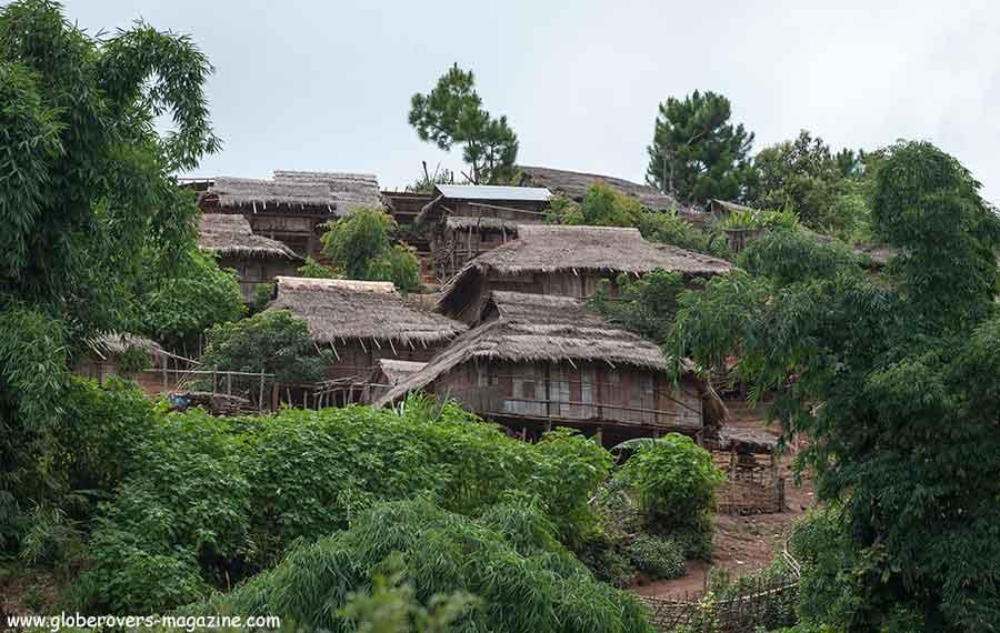 Pang Pack, a Lahu-shi village, west of Keng Tung, Shan State, Myanmar