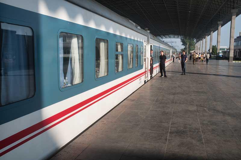 train, north korea