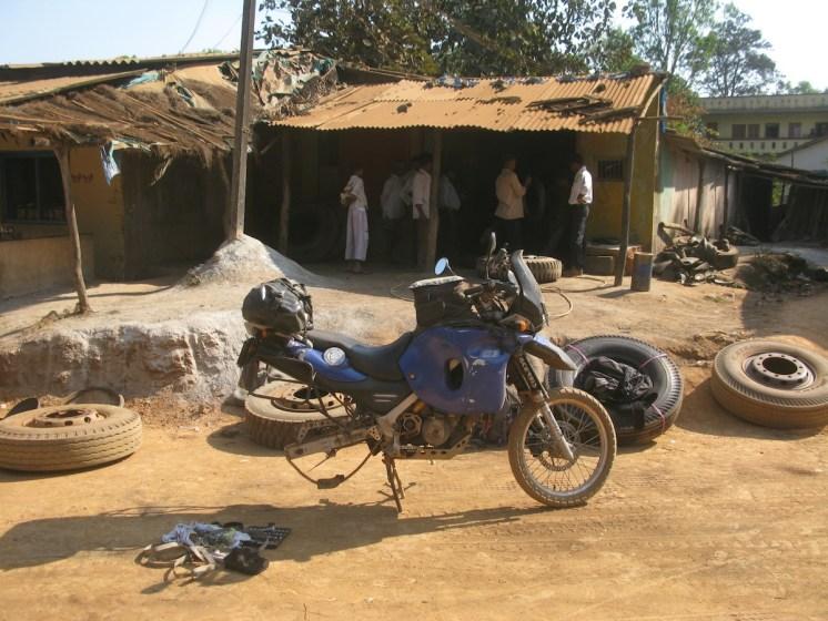 Thierry Wilhelm Worldbiker Motoradreise Indien-81