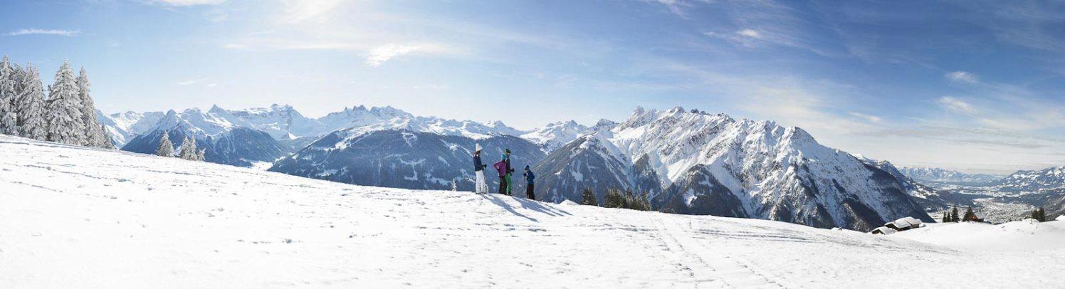 Winteraktivitäten Montafon Vorarlberg