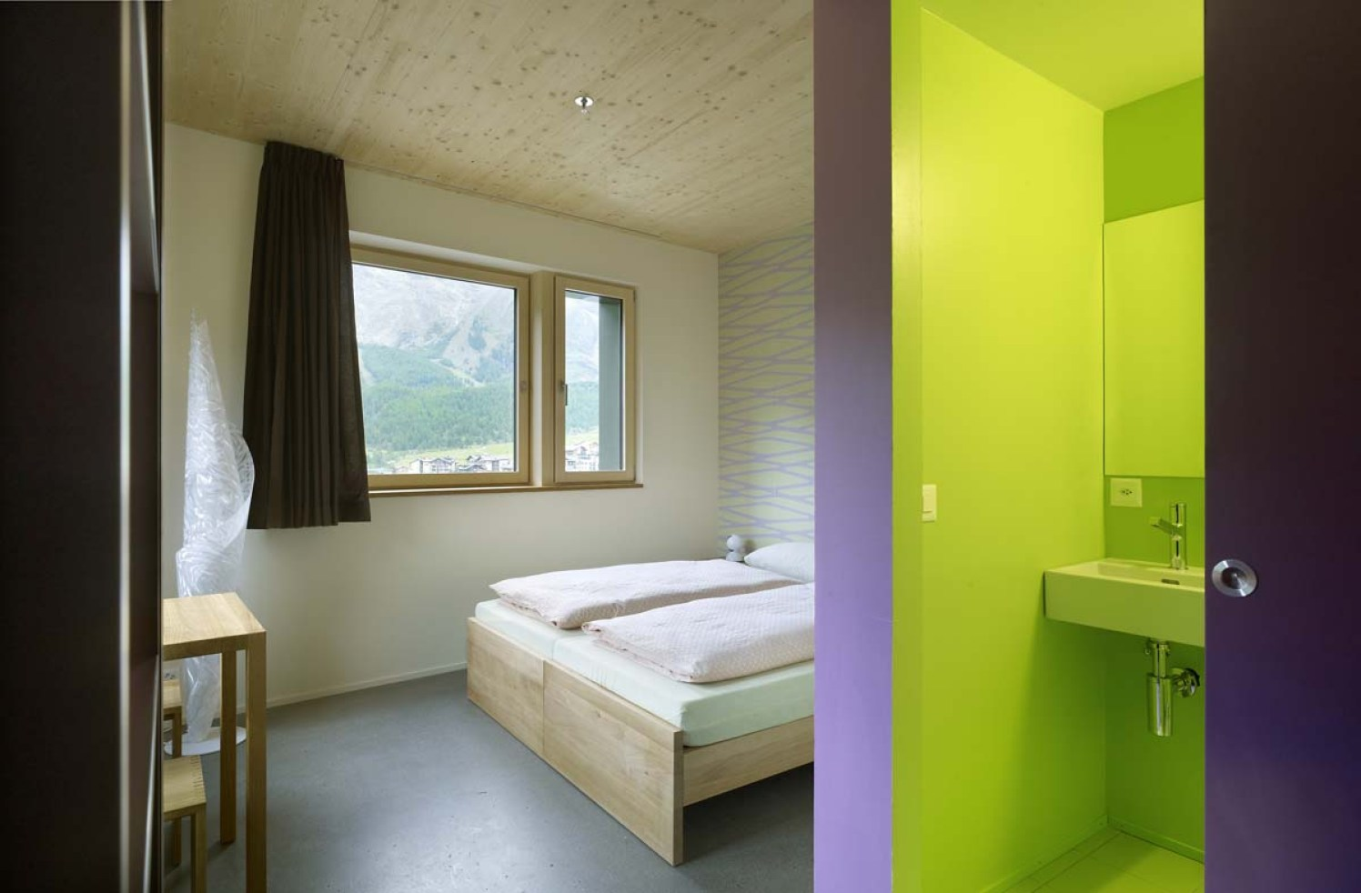 Jugendherberge Saas-Fee wellnessHostel4000