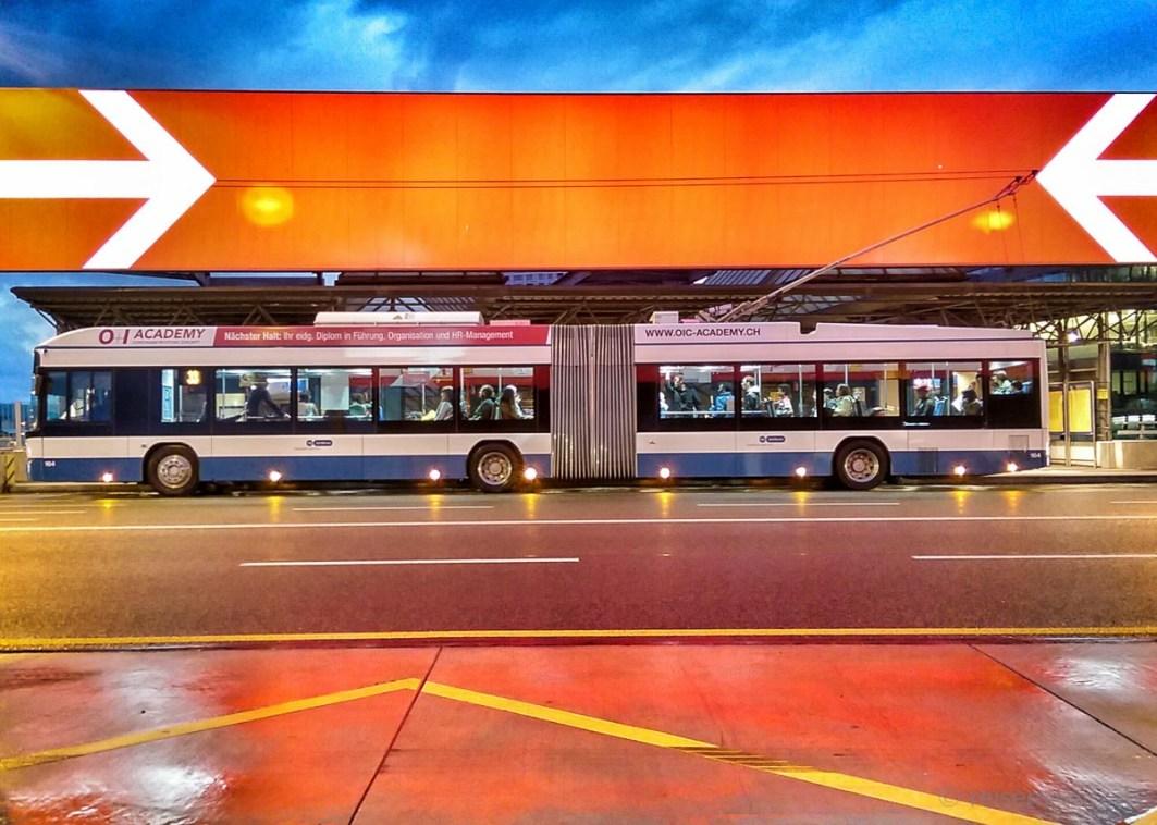 VBZ Bus Hardbrücke