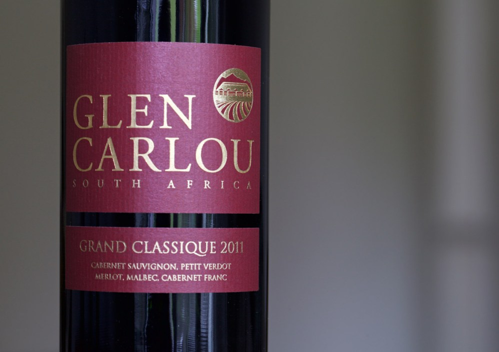 Weintest Glen Carlou Südafrika