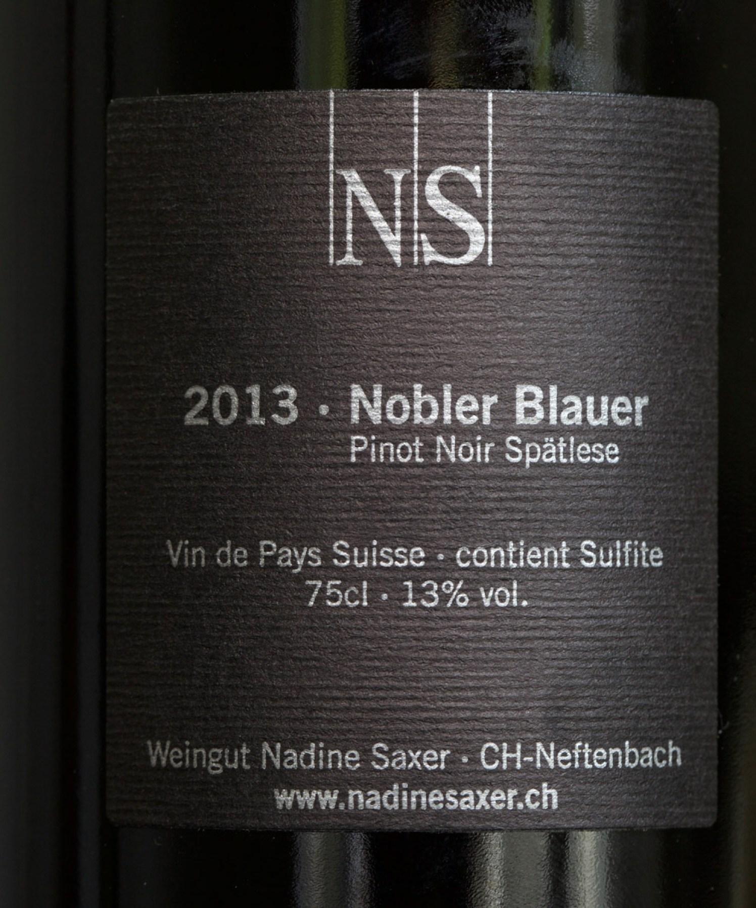 Weintest Pinot Noir Zürich