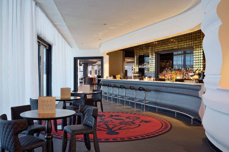 Hotelbar Puregold Hotel Kameha Grand Zürich