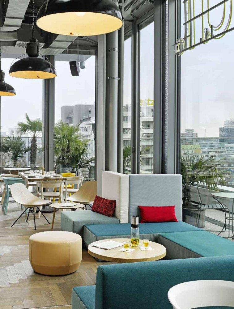25hours Hotel Bikini Berlin: Restaurant Neni orientalisch Lounge