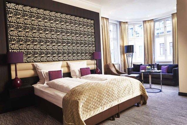 Hotel Steigenberger Leipzig: Doppelzimmer Deluxe