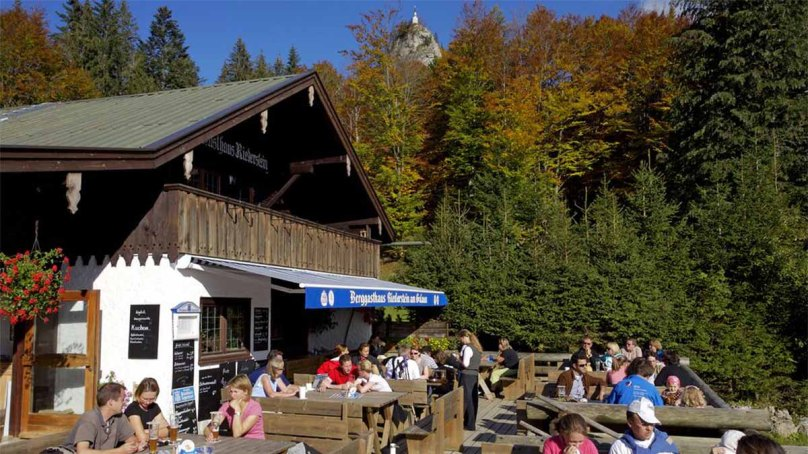 Das Berggasthaus Riederstein - © Tegernsee Tourismus