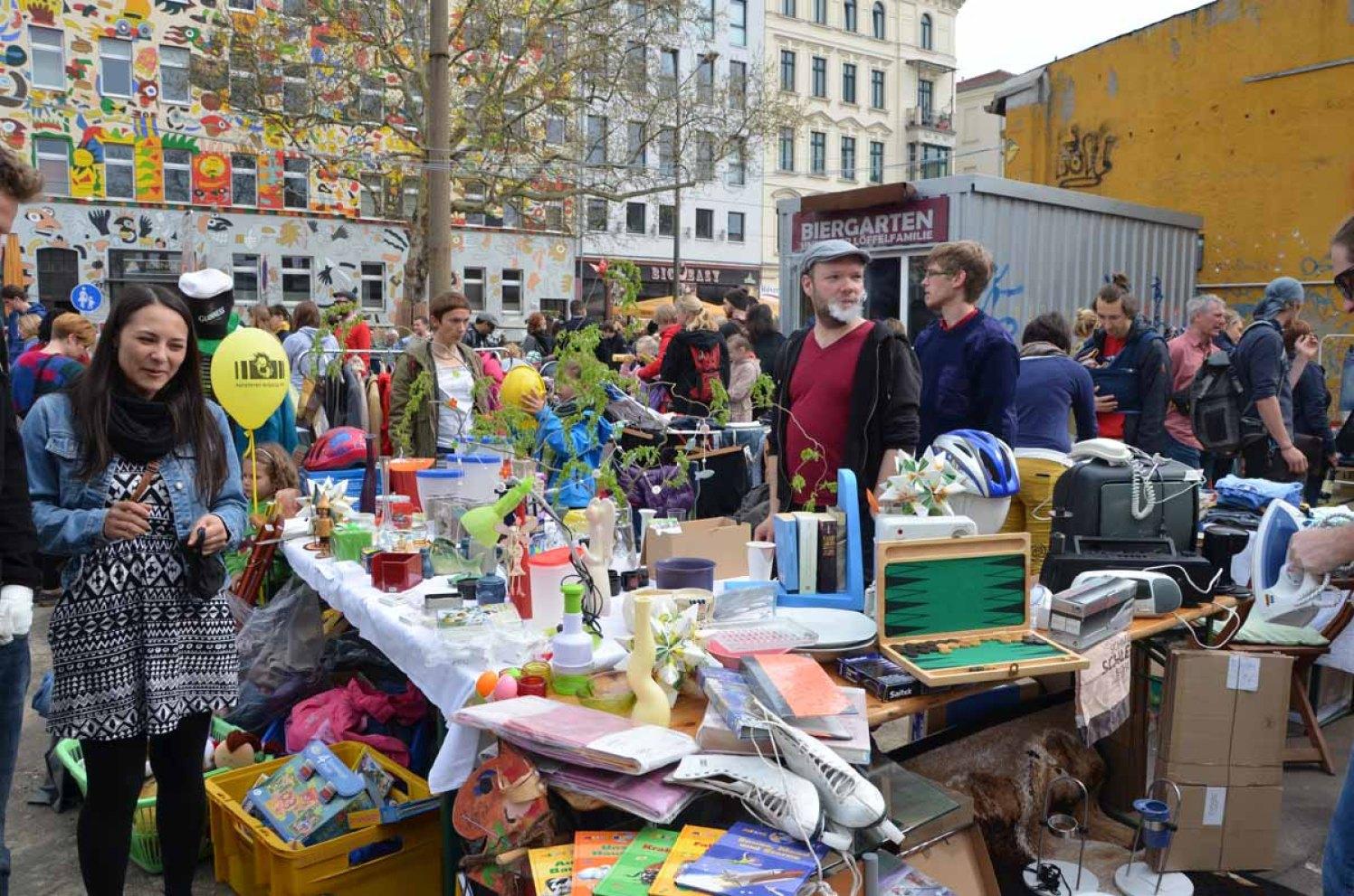 Typisch Leipzig - Flohmarkt, Genuss und Muse