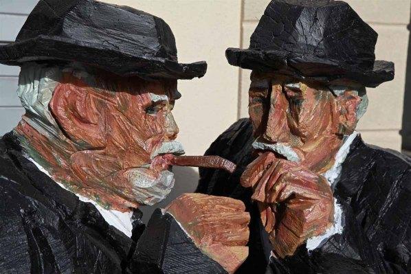 Holzfiguren Peter Leisinger