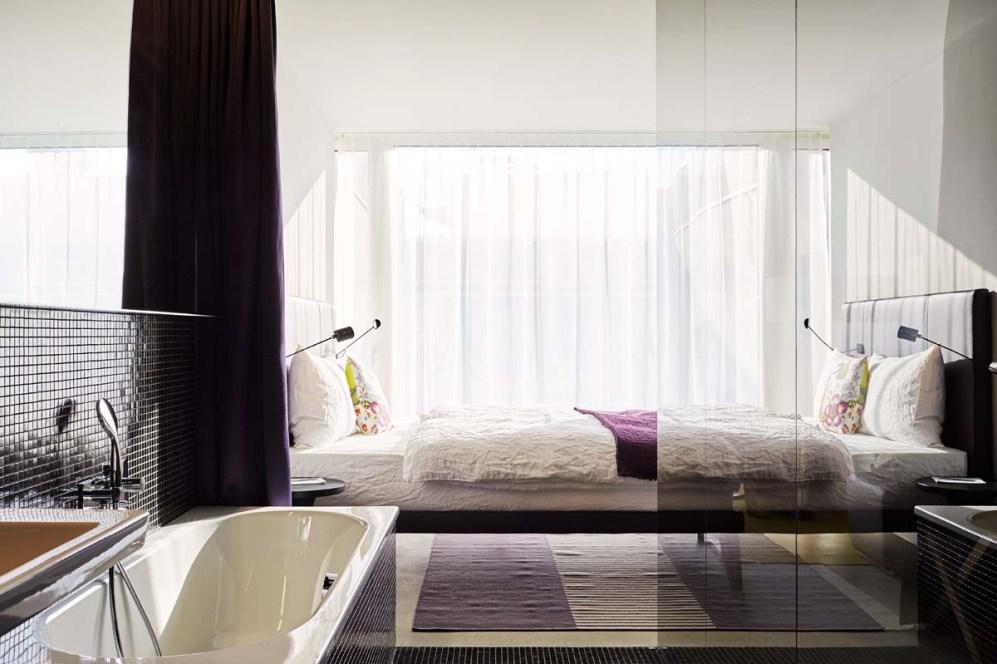 Das Hotel Nomad: Geschmackvolle, urbane Zimmer (Photo: Mark Niedermann)
