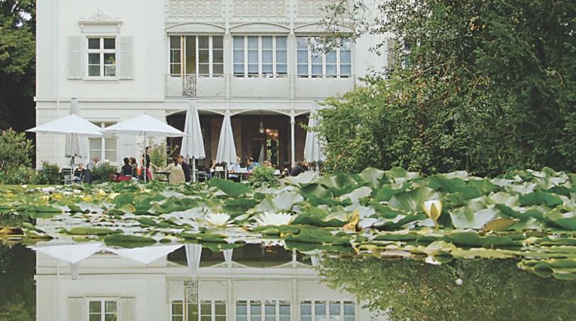Das Café Merian in den Merian Gärten - ein Ort der Ruhe (Photo: Basel Tourismus)