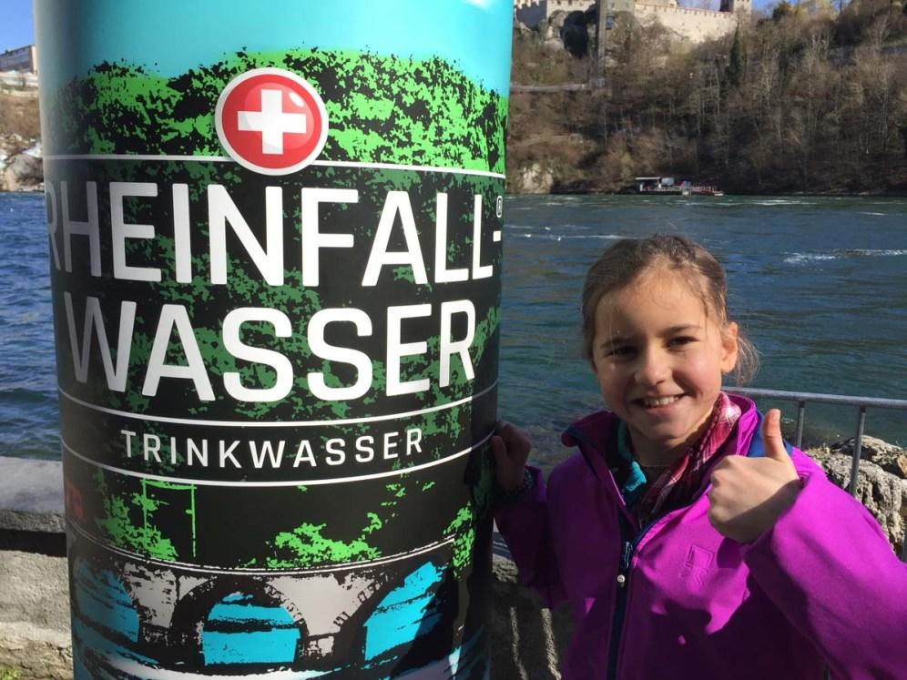 Action am Rheinfall