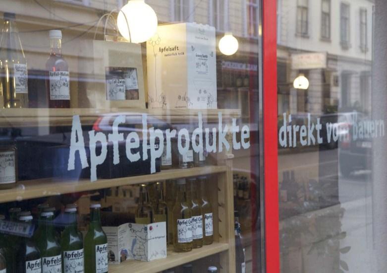 Näherei Apfel Wien