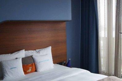 25hours Hotel Hamburg Zimmer