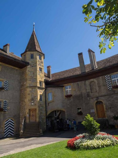 Grand Tour Schloss Murten