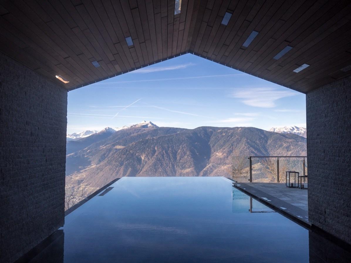 Der Pool des Miramonti Hotel