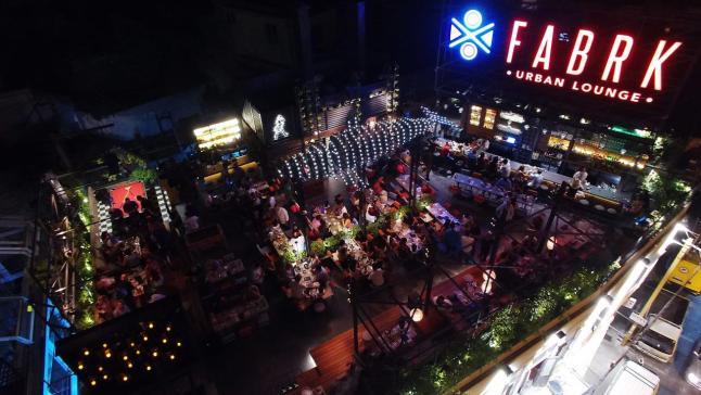 Fabrk: Rooftop Restaurant in Beirut